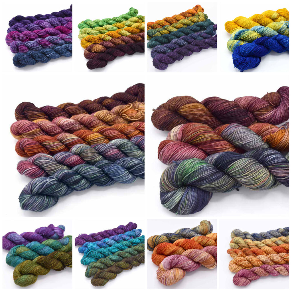 Mini Skein and 3-Color Kits