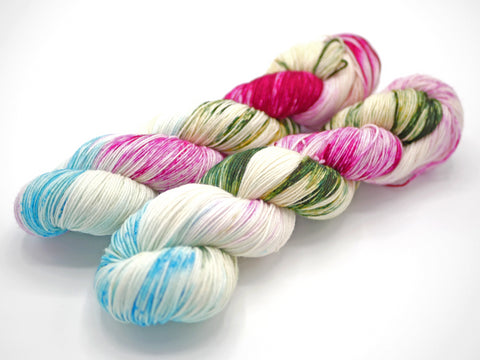 Blanche, Hand Dyed Sock Yarn - Lovely Base - In Stock