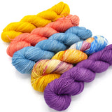Don't Feed the Bears, Hand Dyed Yarn - Dyed to Order on Your Choice of Bases