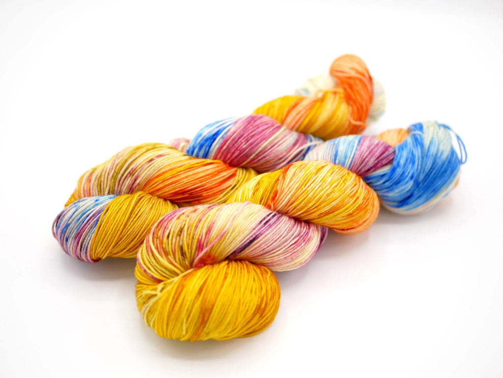Dorothy, Hand Dyed Sock Yarn - Lovely Base - In Stock