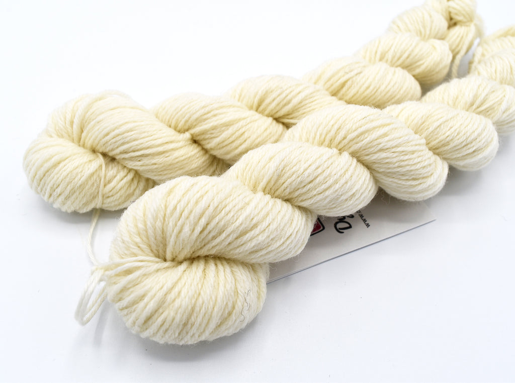 Naked, Hand Dyed Yarn - Dyed to Order on Your Choice of Bases