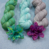 Robins Egg, Hand Dyed Yarn - Dyed to Order on Your Choice of Bases