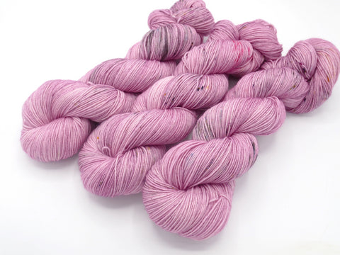 Rose Fanee, Hand Dyed Yarn - Dyed to Order on Your Choice of Bases