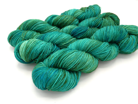 Seas the Day, Hand Dyed Yarn - Dyed to Order on Your Choice of Bases