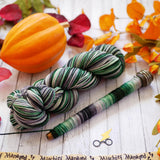 Slithering Along, Watercolor Stripes Self Striping Yarn - In Stock