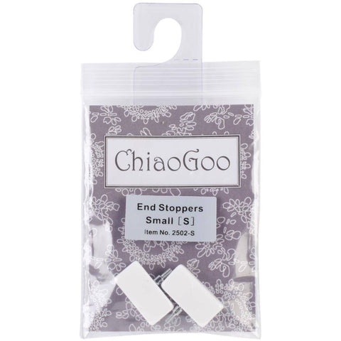 ChiaoGoo Small End Stoppers - US 2 - US 8