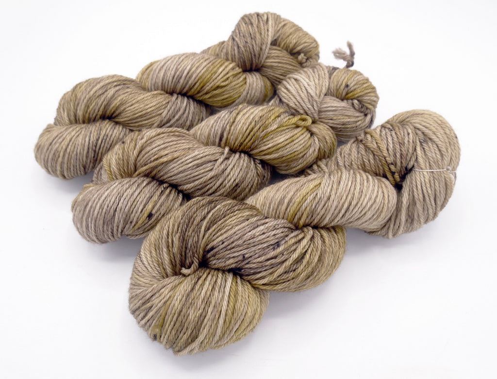 Taupiary Merino Worsted Superwash Merino Wool, Hand Dyed Yarn - In Stock