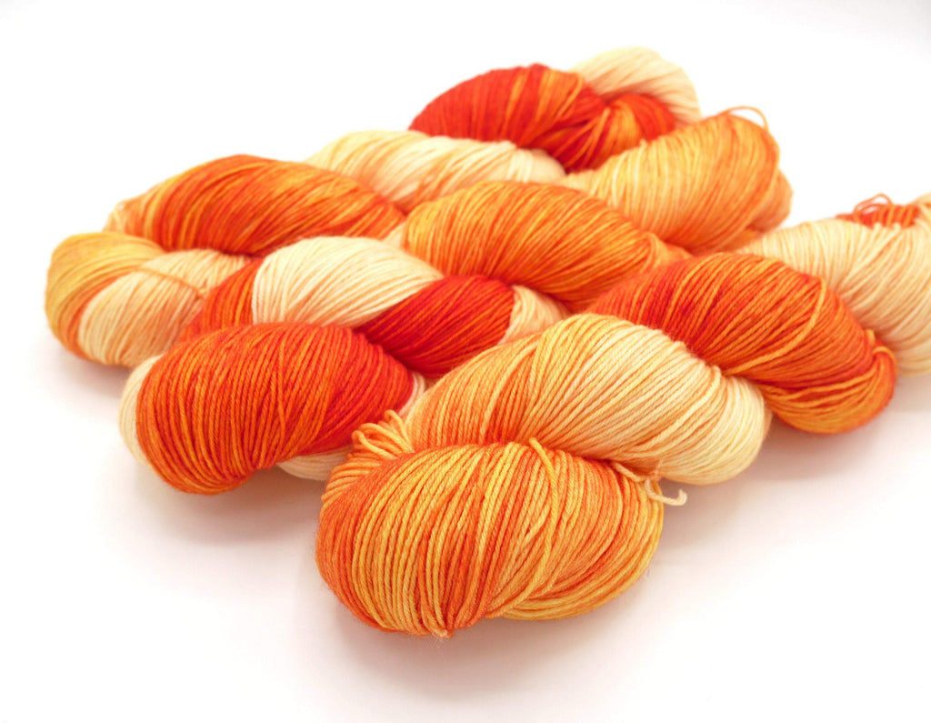 Sofishticated, Superwash Merino Wool Variegated Hand Dyed Sock Yarn - In Stock