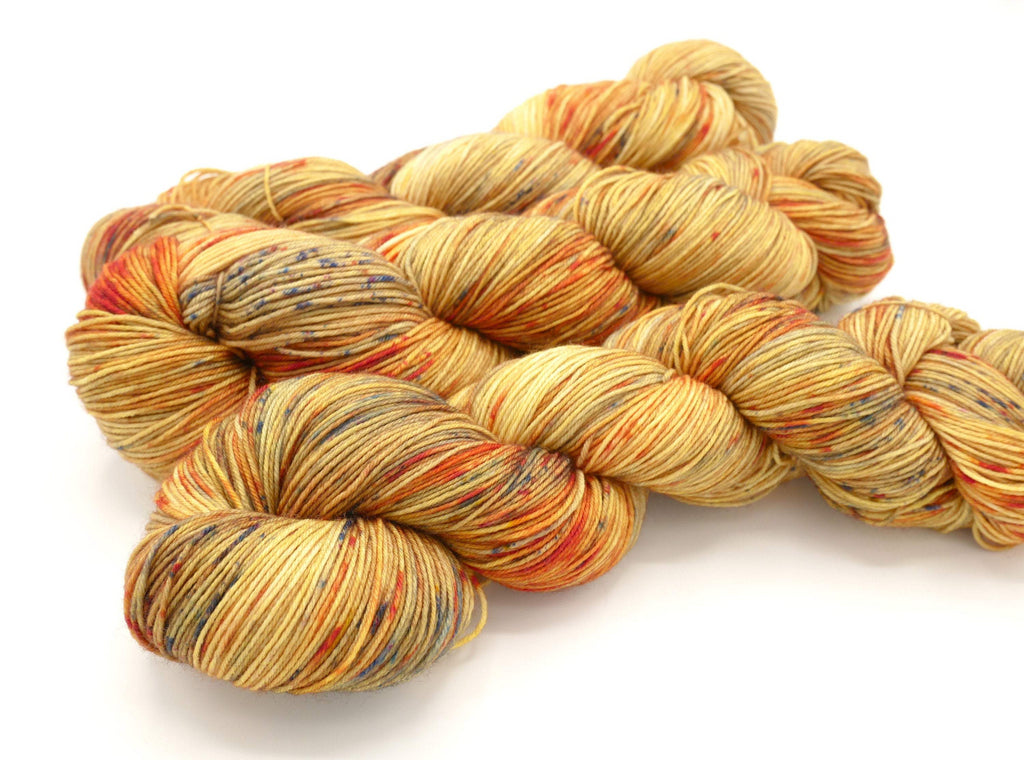 Simba, Hand Dyed Sock Yarn - Lovely Base - In Stock