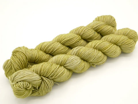 Pear, 50 gr, Superwash Merino Wool Hand Dyed Yarn, Sock Yarn - In Stock