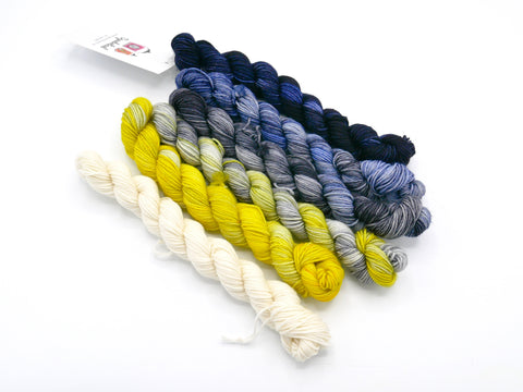 Gloria Hand Dyed Fade Set, Mini Skein or Full Size - Made to Order