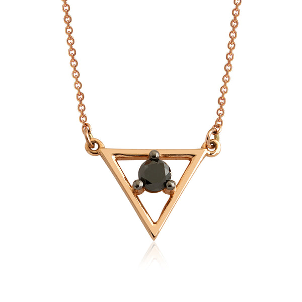 Hub Necklace (Black)