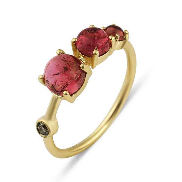 3 Moons Ring (Pink)