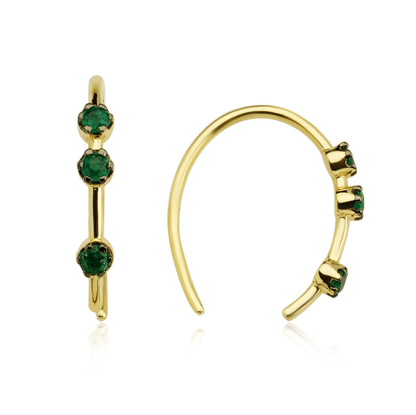 Drop Earring (Green)