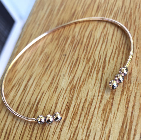 Loop Cuff (with Champagne Diamonds)