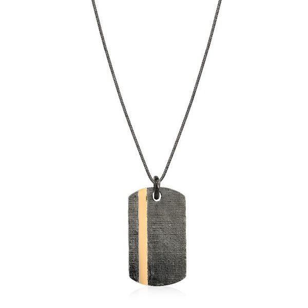 Line Dogtag Necklace