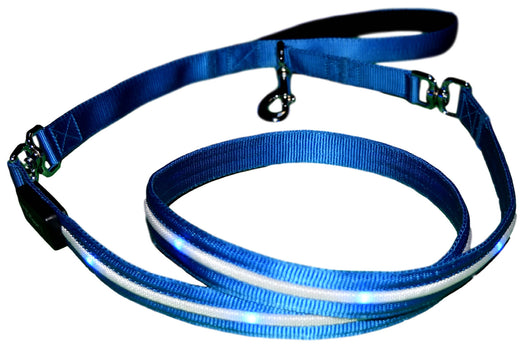 Premium LED Dog Leash - Lighted Dog Leads by Yippr