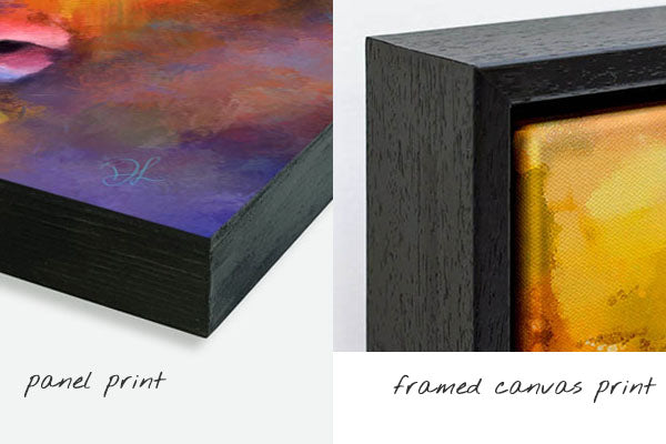panel and framed canvas prints