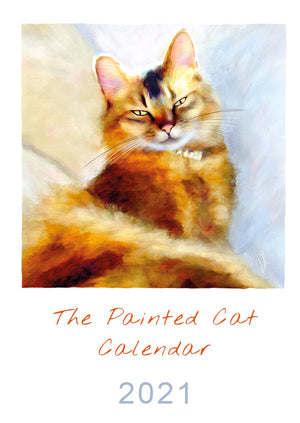 2021 Painted Cat Calendar