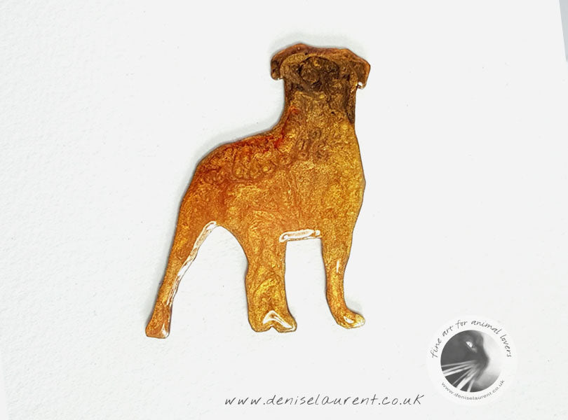 Bullmastiff Dog Brooch