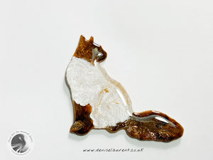 Longhaired Cat Brooch
