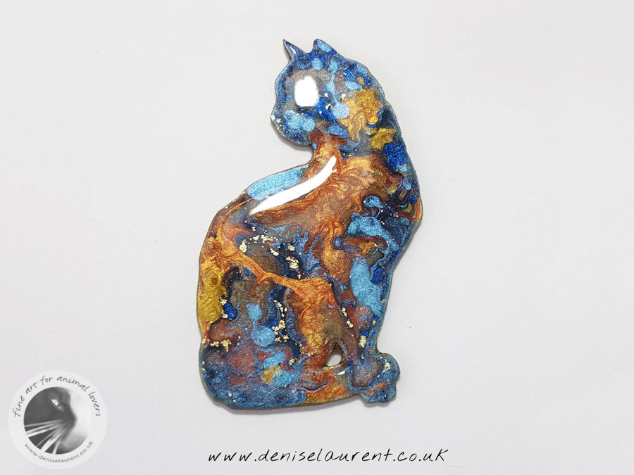 Elli Cat Brooch