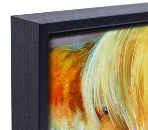 Goldilocks - Framed Canvas Print