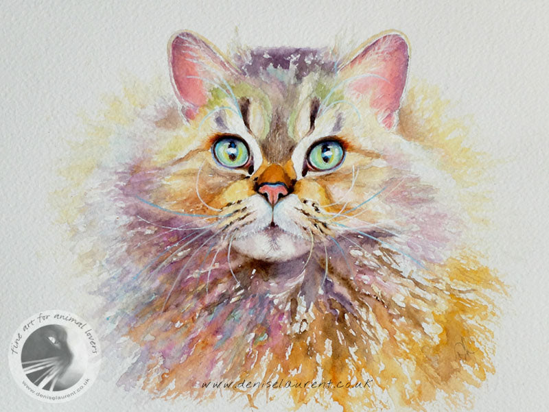 Honey In Watercolour