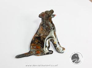 Labrador Dog Brooch