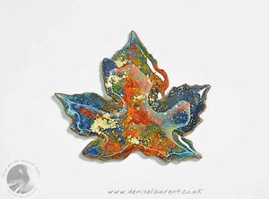 Sycamore Leaf Brooch