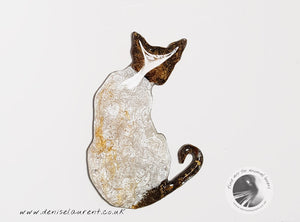Siamese Cat Brooch - Taz
