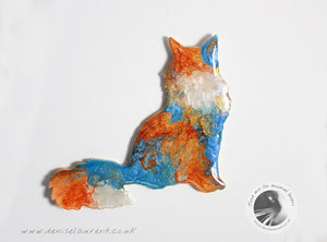 Maine Coon Cat Brooch - Tippy