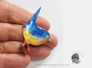 Little Wren Brooch