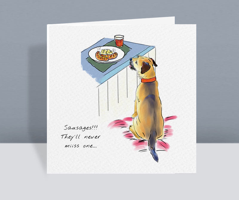 Sausages! Card
