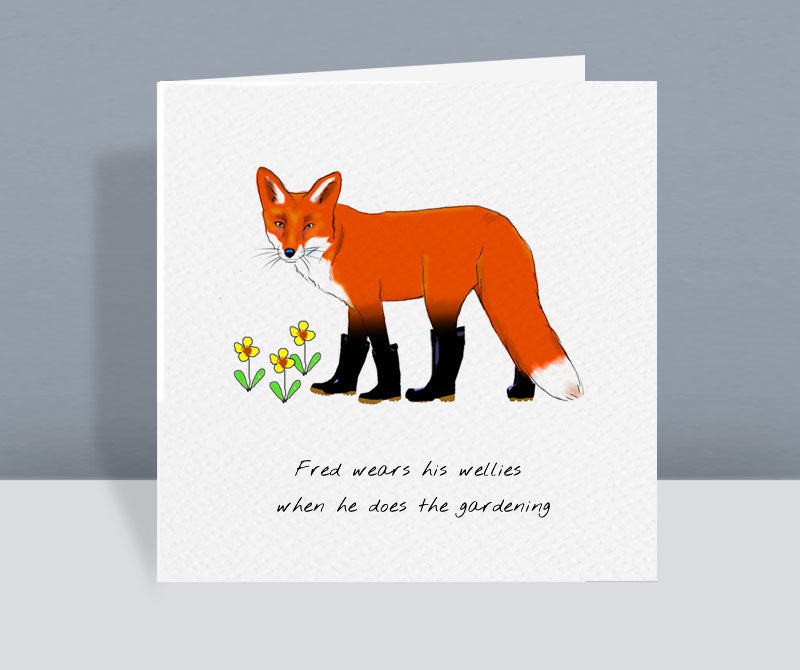 Fred Fox Card