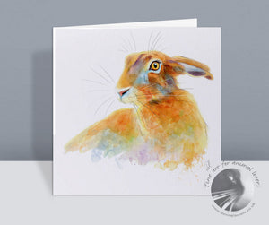 Golden Hare Card