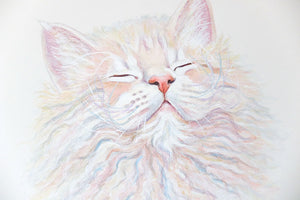 Cookie - Cat Watercolour Painting