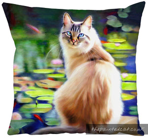 The Fishpond Cat Cushion