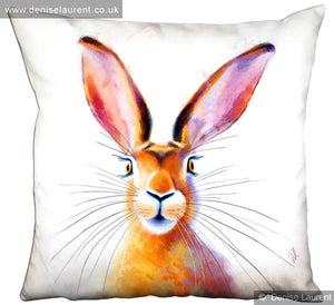 Peakaboo Hare Cushion