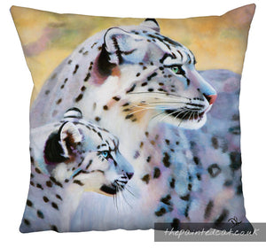 Snow Leopard Cushion