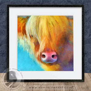 Goldilocks - Highland Cow Print