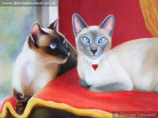 Portrait Of Leo and Sheba