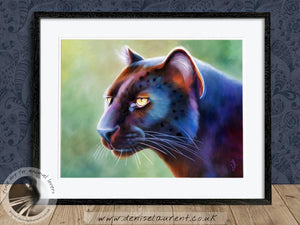Mystique - Black Panther Print