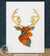 Stag's Head - Resin Painting