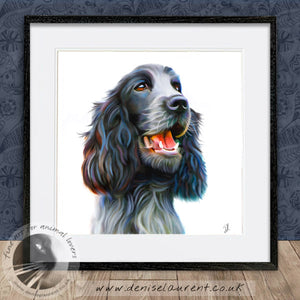 Tilly - English Cocker Spaniel Dog Print