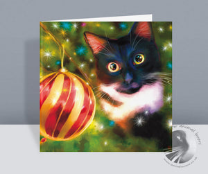 Oh Christmas Tree - Cat Christmas Card