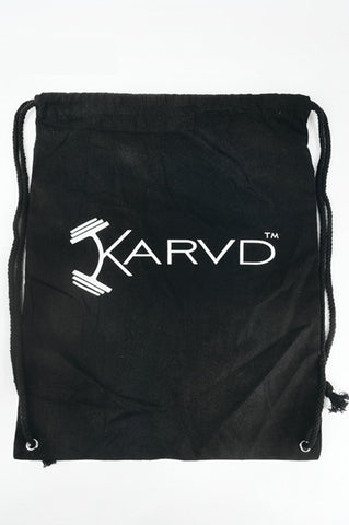 KARVD GYM SACK (BLACK)