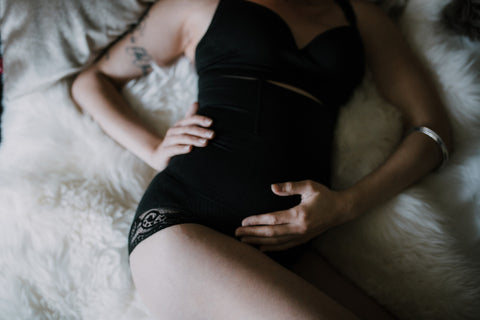 ASSURED-LACE: Maternity/Postpartum Panty