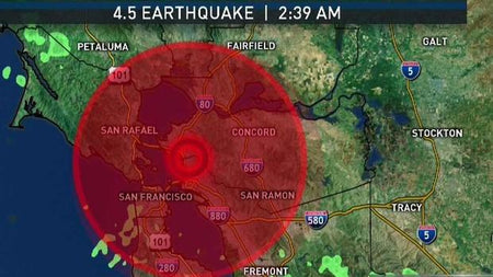 Bay Area Earthquake Early This Morning: Is A Bigger Shock Coming?