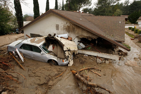 Southern California Storm Updates: Rivers of Mud and Flooding
